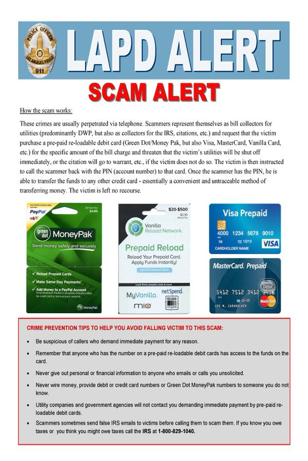 lapd-scam-alert