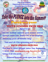 Youth Summer Swim Pass
