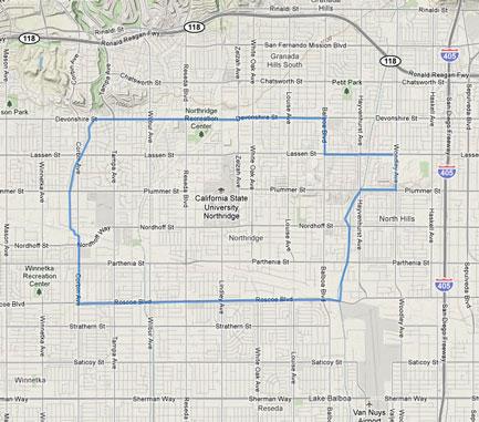 Northridge, CA Information