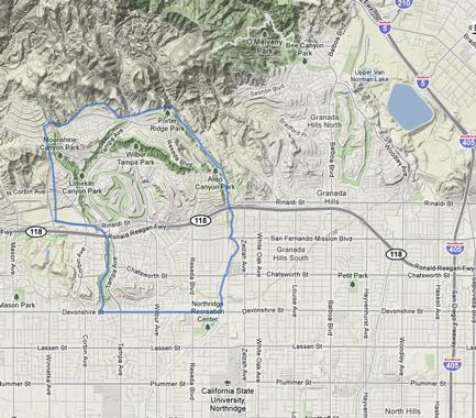 Porter Ranch California Map Porter Ranch, CA Information